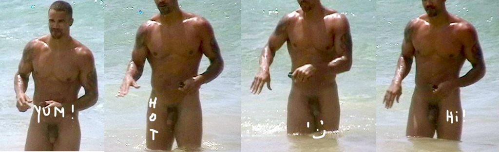 Shemar moore naked on beach have thought