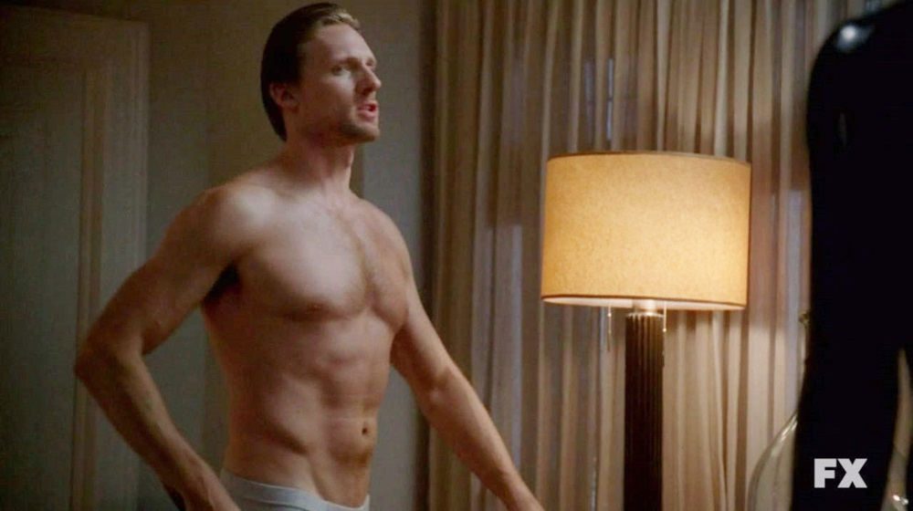 teddy sears shirtless american horror story