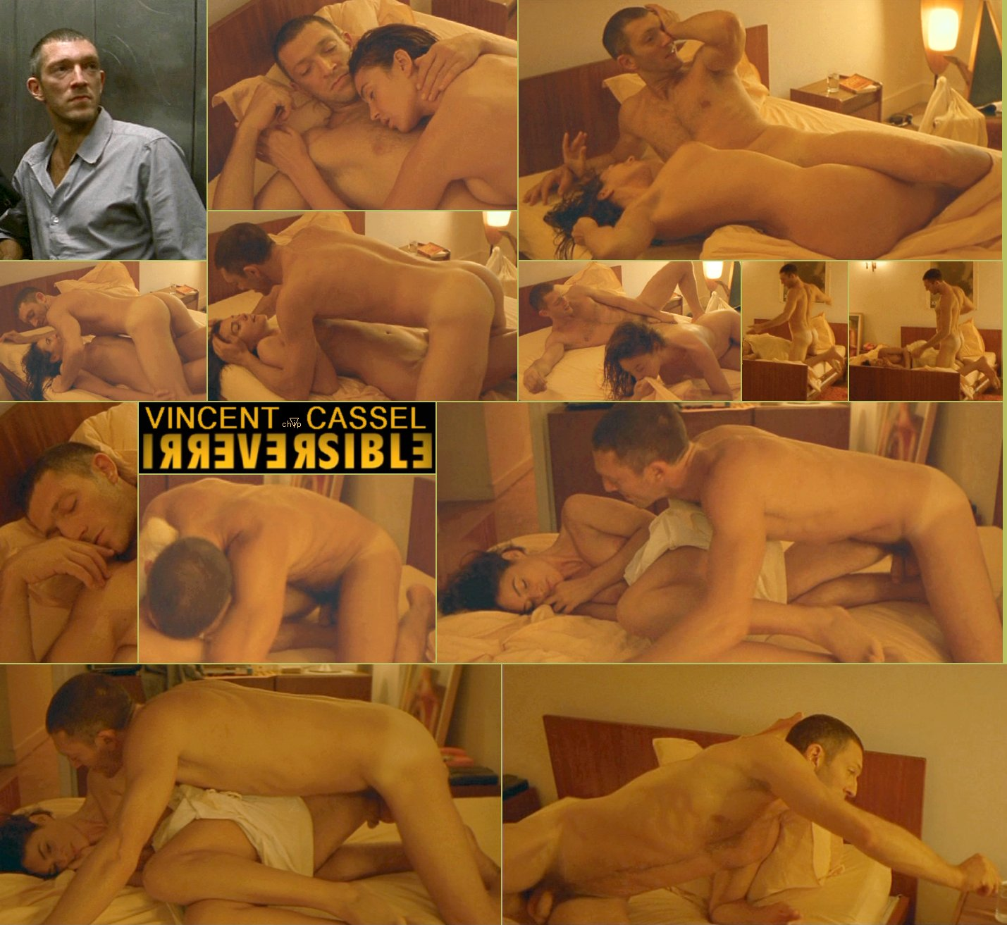 Vincent Cassel Nude in Irreversible